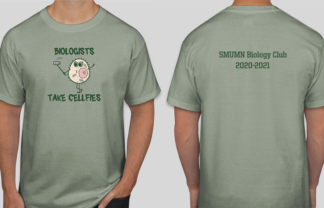 Biology Club T-shirt sale ends Monday, April 5