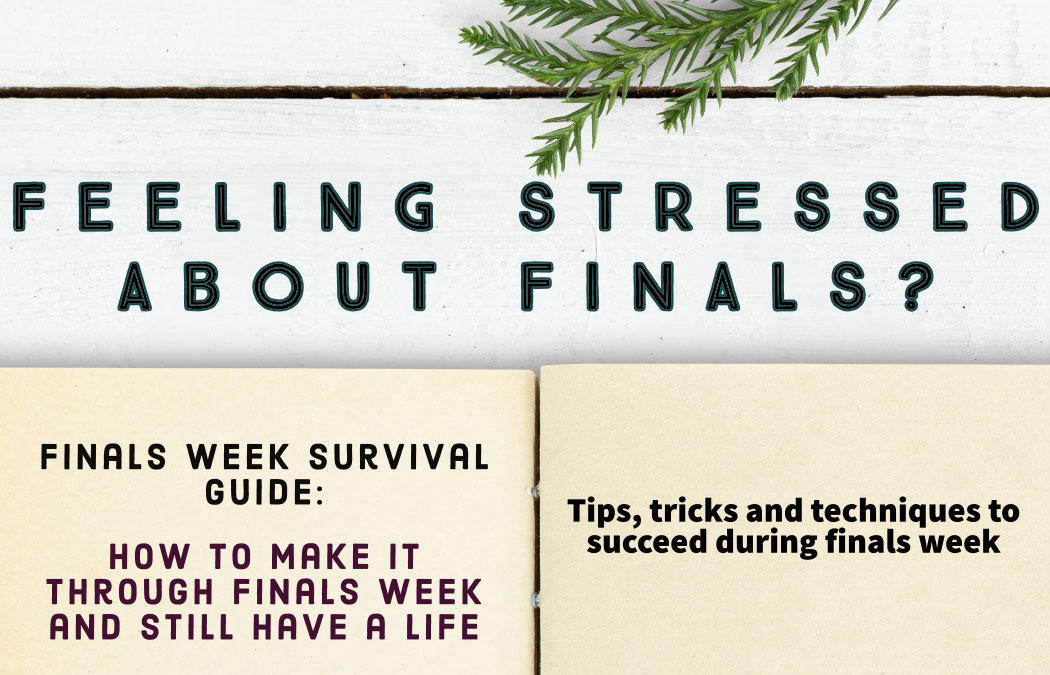 Interactive series to reduce stress and prepare for finals