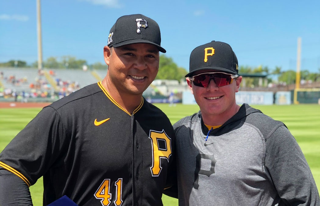 Mencacci finds dream job with Pittsburgh Pirates