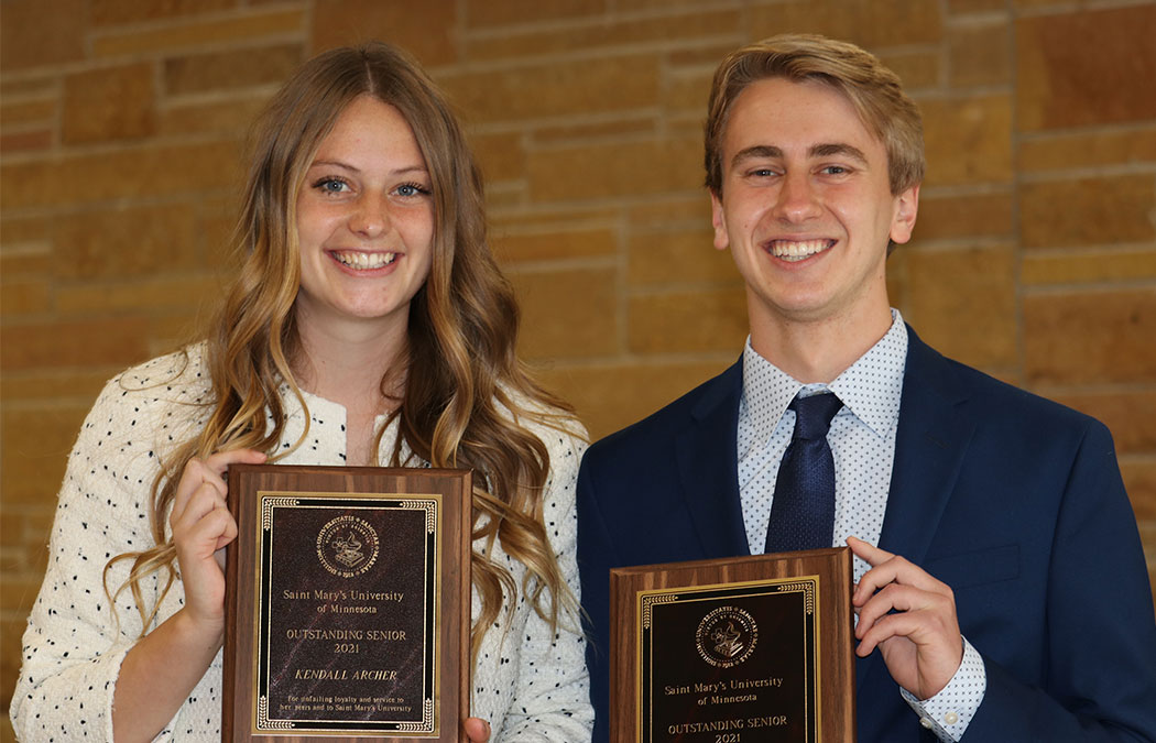 Archer and Shepard named this year's Outstanding Seniors