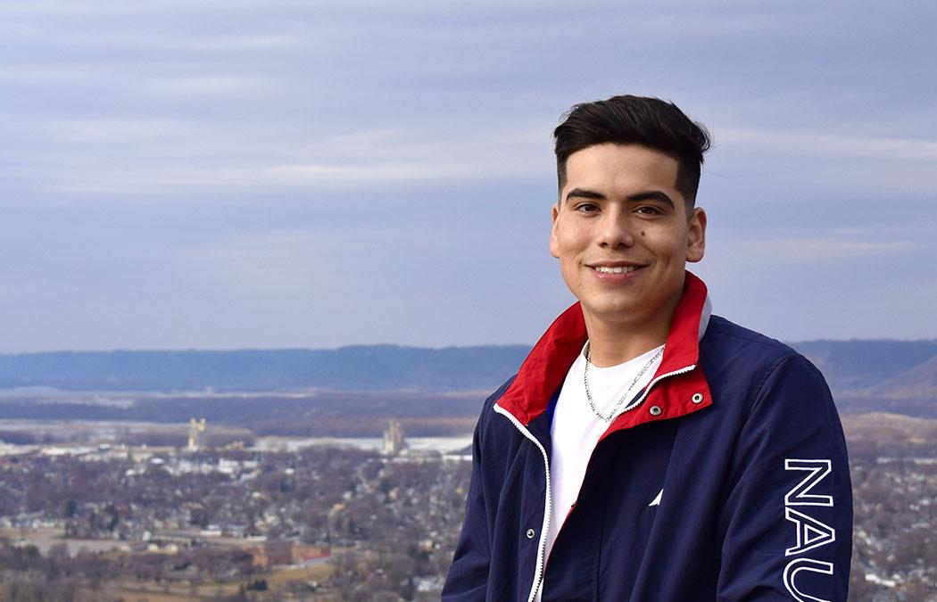 First Generation Initiative student spotlight: Anthony Saucedo '22
