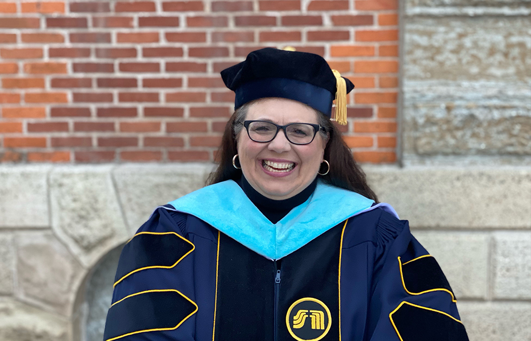 Ed.D. graduate says she belonged at Saint Mary's