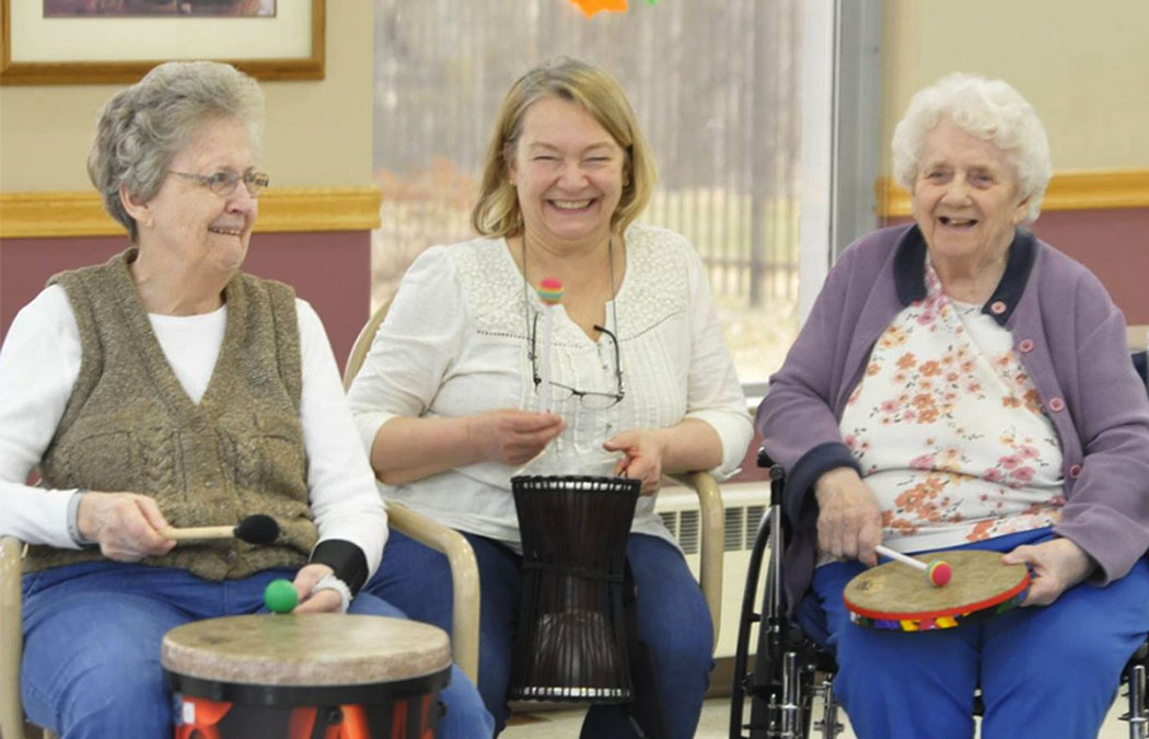 MCA offers percussive music class for older adults